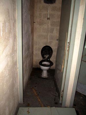 Toilettes modernes
